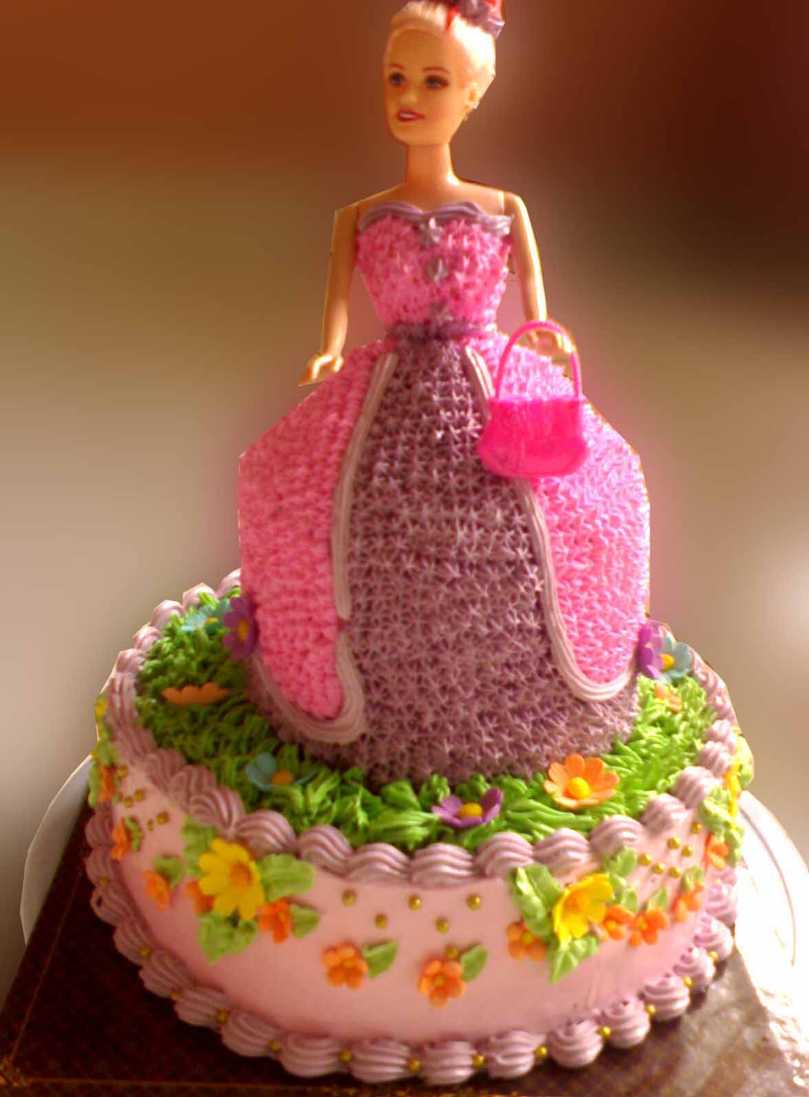 free desktop wallpaper Barbie Cake HD Wallpapers