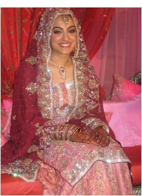 hijabi asian brides