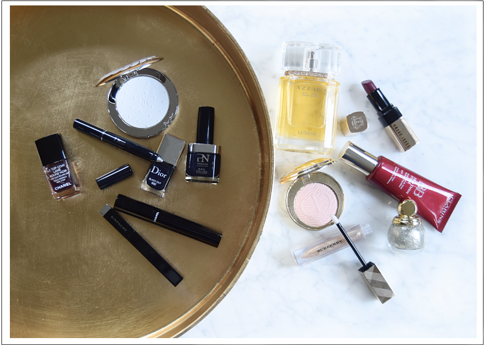 Beauty, Chanel, Dior, Givenchy, Pronails, Guerlain, azzaro, Burberry, Clarins, Bobbi Brown, make-up, christmas, holidays, festive, 2015