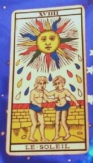 El Sol. Carta del Tarot