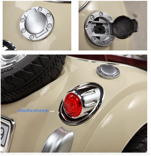 Chi tiết xe ô tô điện trẻ em JE128 hình12