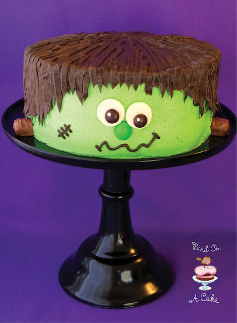 Frankenstein's Monster Cake
