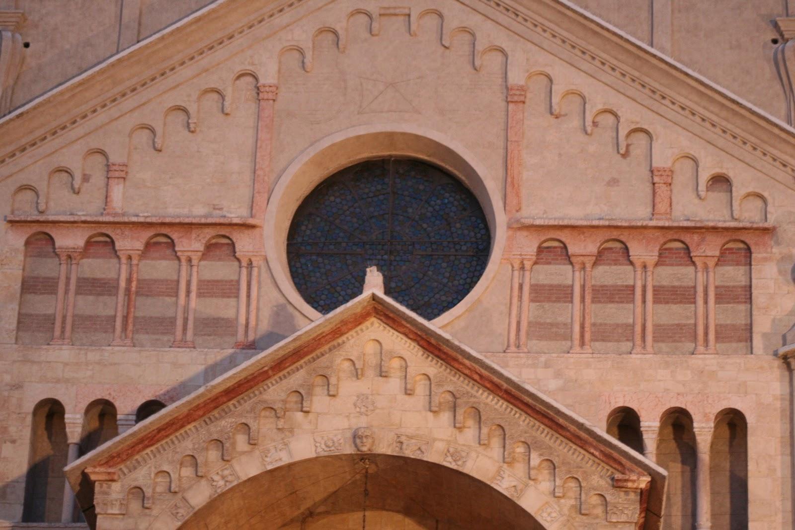 Верона - Дуомо фасад