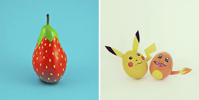funny fruit art pictures