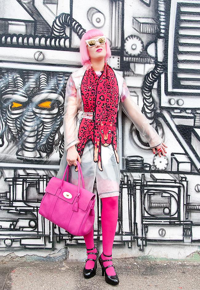 blogger streetstyle, rainy day look, cléo ferin mercury