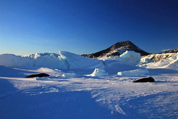 Near Scott Base, the New Zealand station in Antarctica.