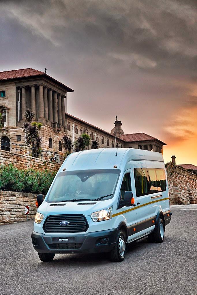 Ford's all-new Transit van