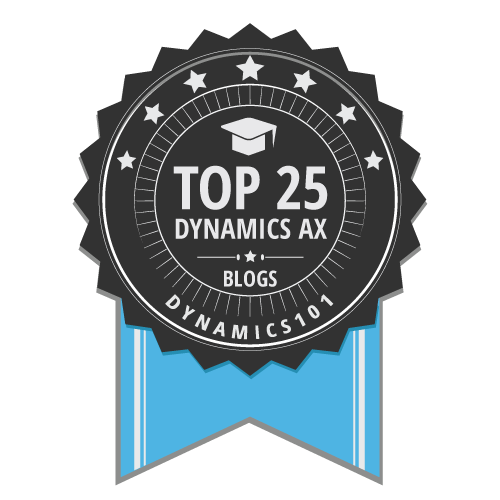 The Top 25 Dynamics AX sites
