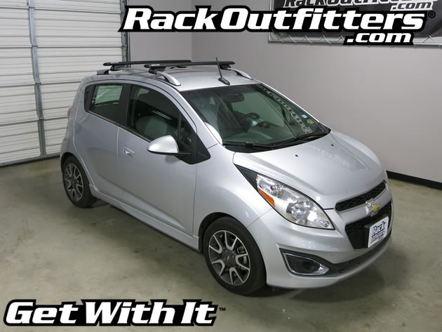Ford Fiesta Roof Rack >> Chevrolet Spark Rhino-Rack SX Vortex Aero BLACK Complete Base Roof Rack '13-'16* - Rack Outfitters