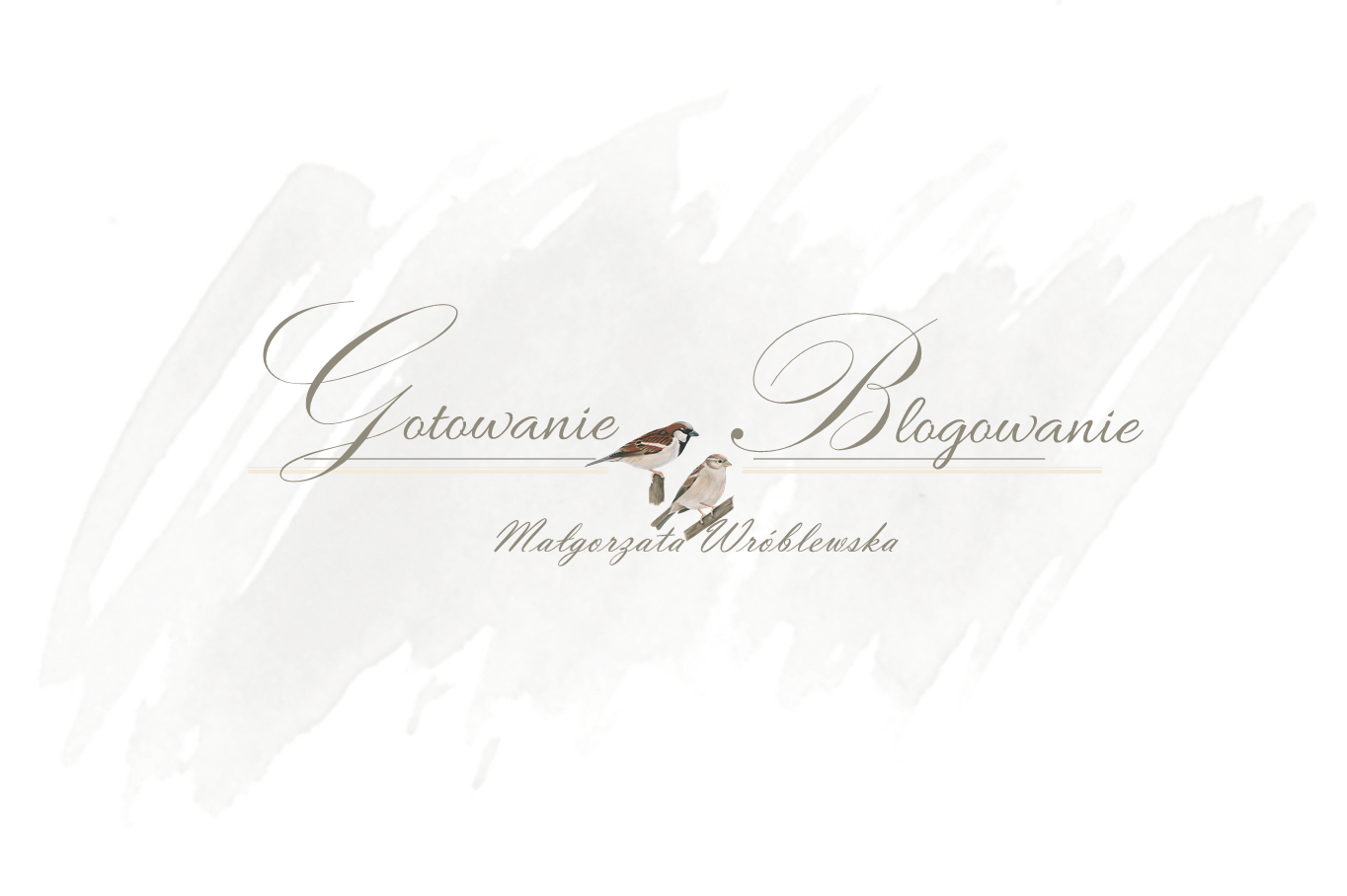 Gotowanie i blogowanie - Małgorzata Wróblewska