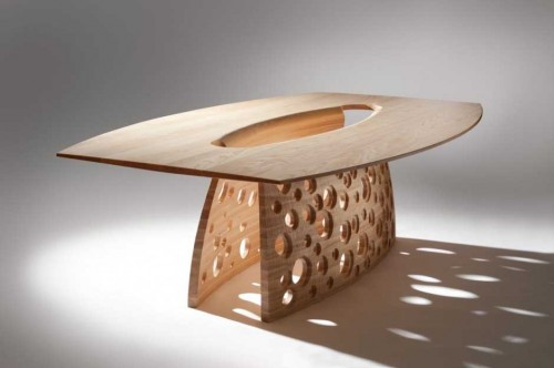 HOLE Dining Table by John Lee