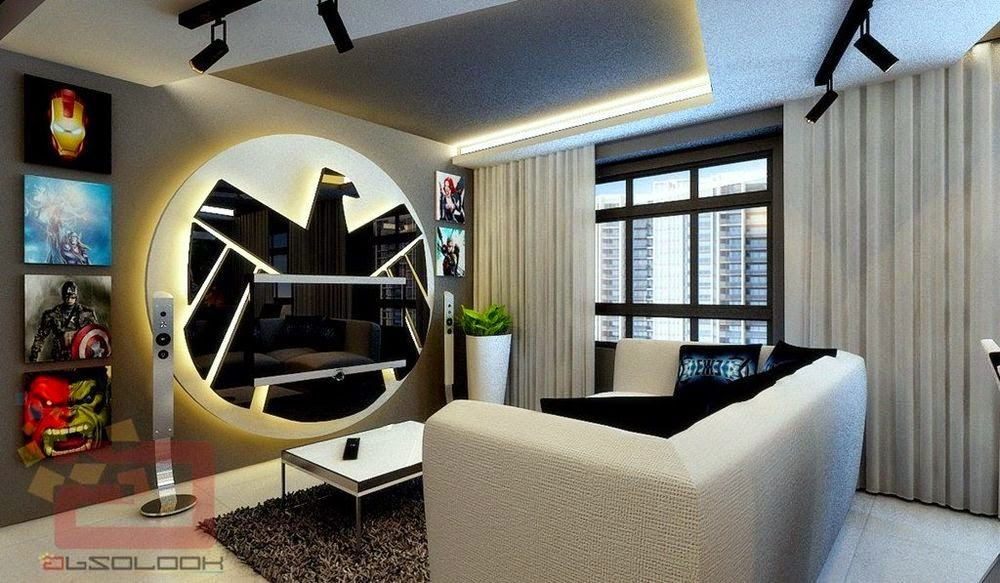 avengers-themed home