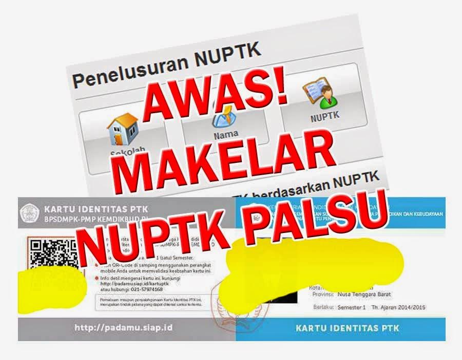 Makelar-NUPTK-Palsu