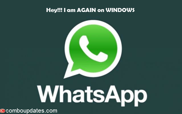 WhatsApp relaunched for Windows Phone devices like Lumia series smart phones