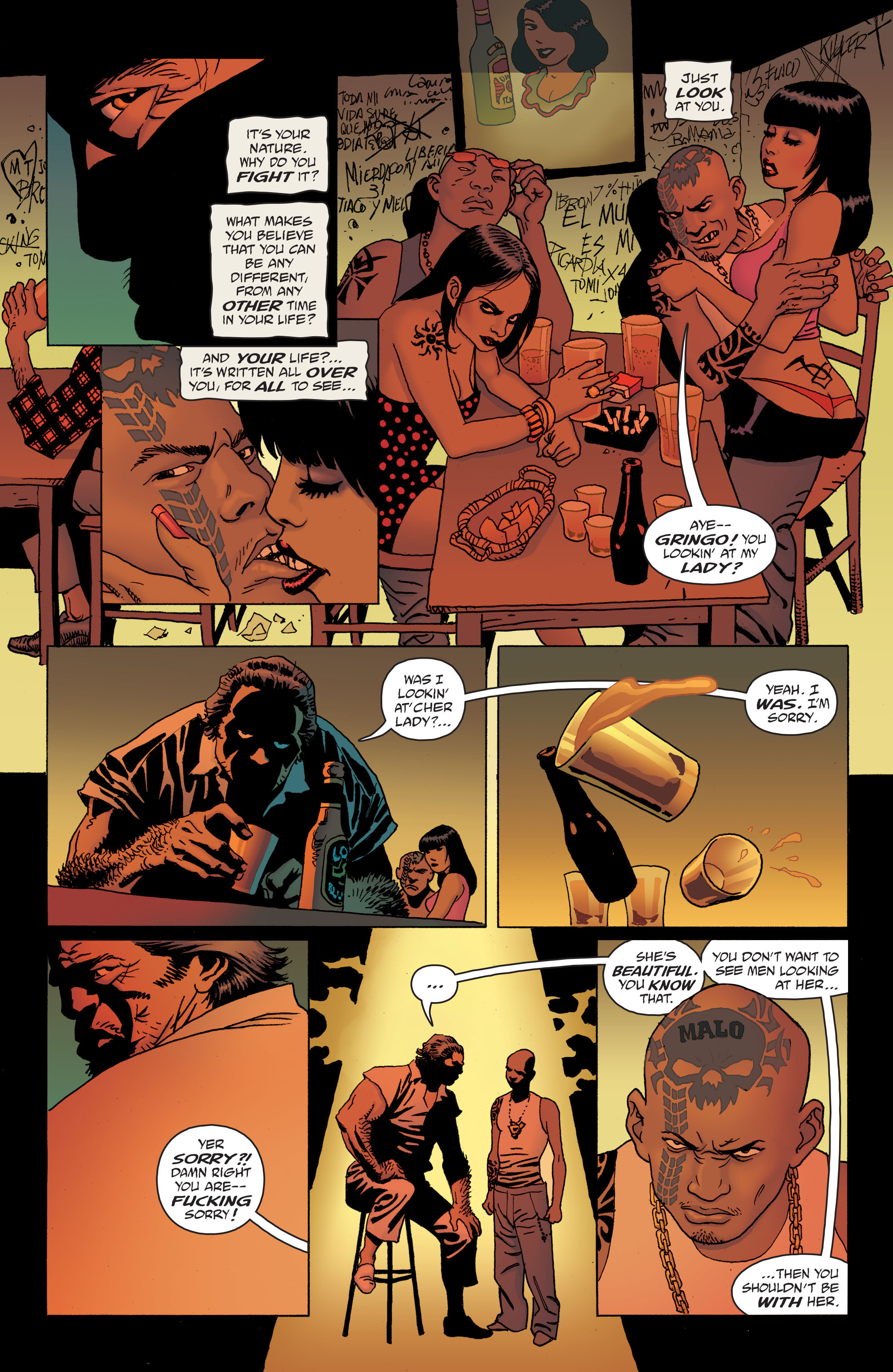 100 Bullets: Brother Lono Full Page 49