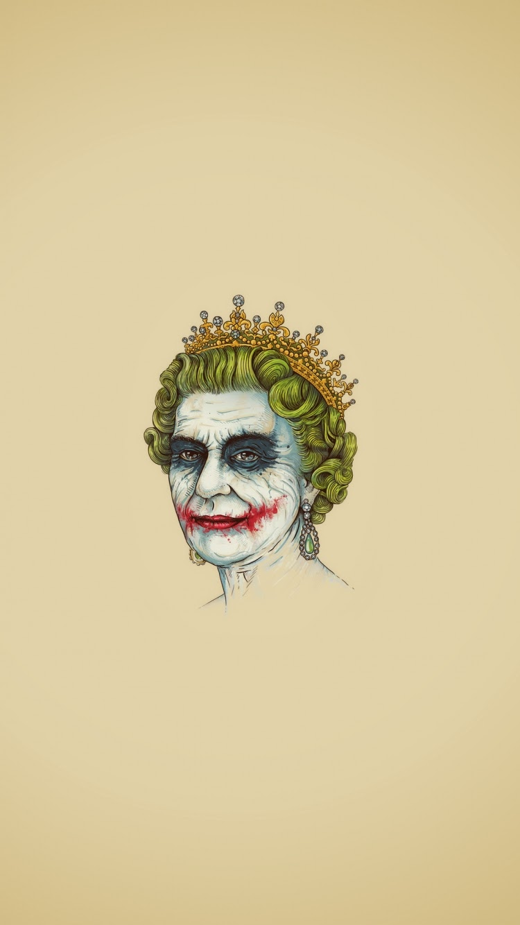 Funny Joker Queen Iphone 6 Wallpapers Hd