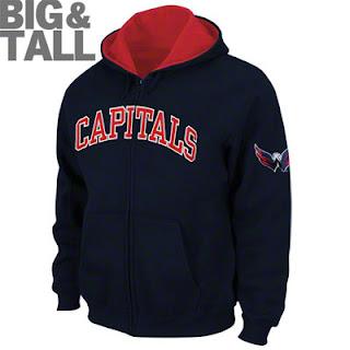 Big and Tall Washington Capitals Sweatshirt