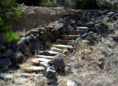 how to build trail steps