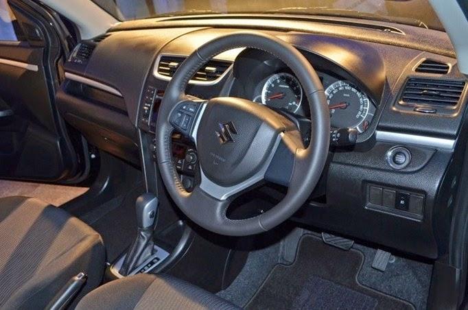 2016 Suzuki Swift Interior