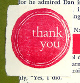 designing handmade thank you cards