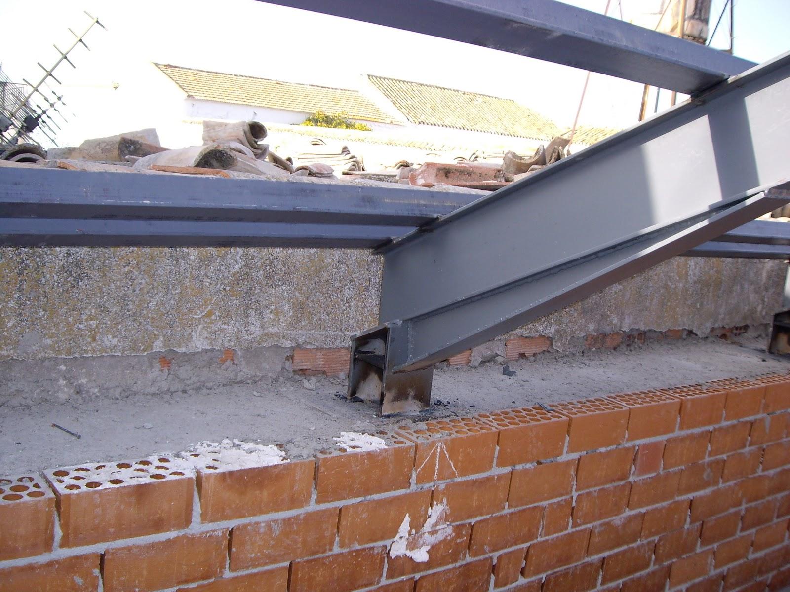 Carpinter a met lica y aluminios gonz lez s l cubiertas - Cubiertas para casas ...