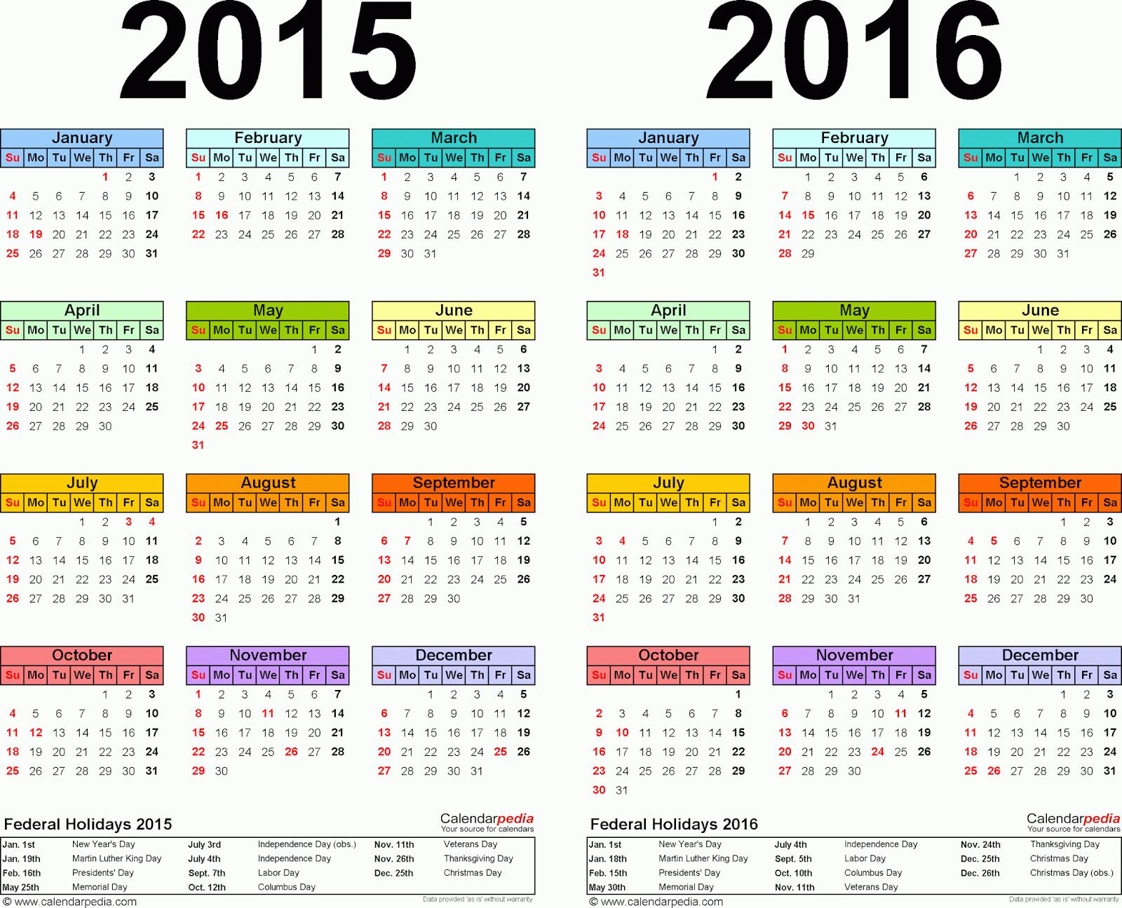 Peotone PTO 2015 2016 Calendar