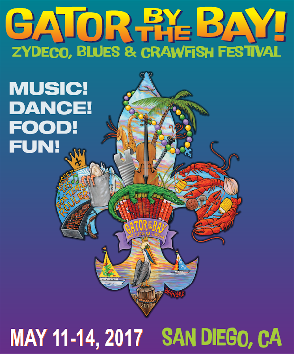 Don't Miss Gator By The Bay 2017 - May 11-14!