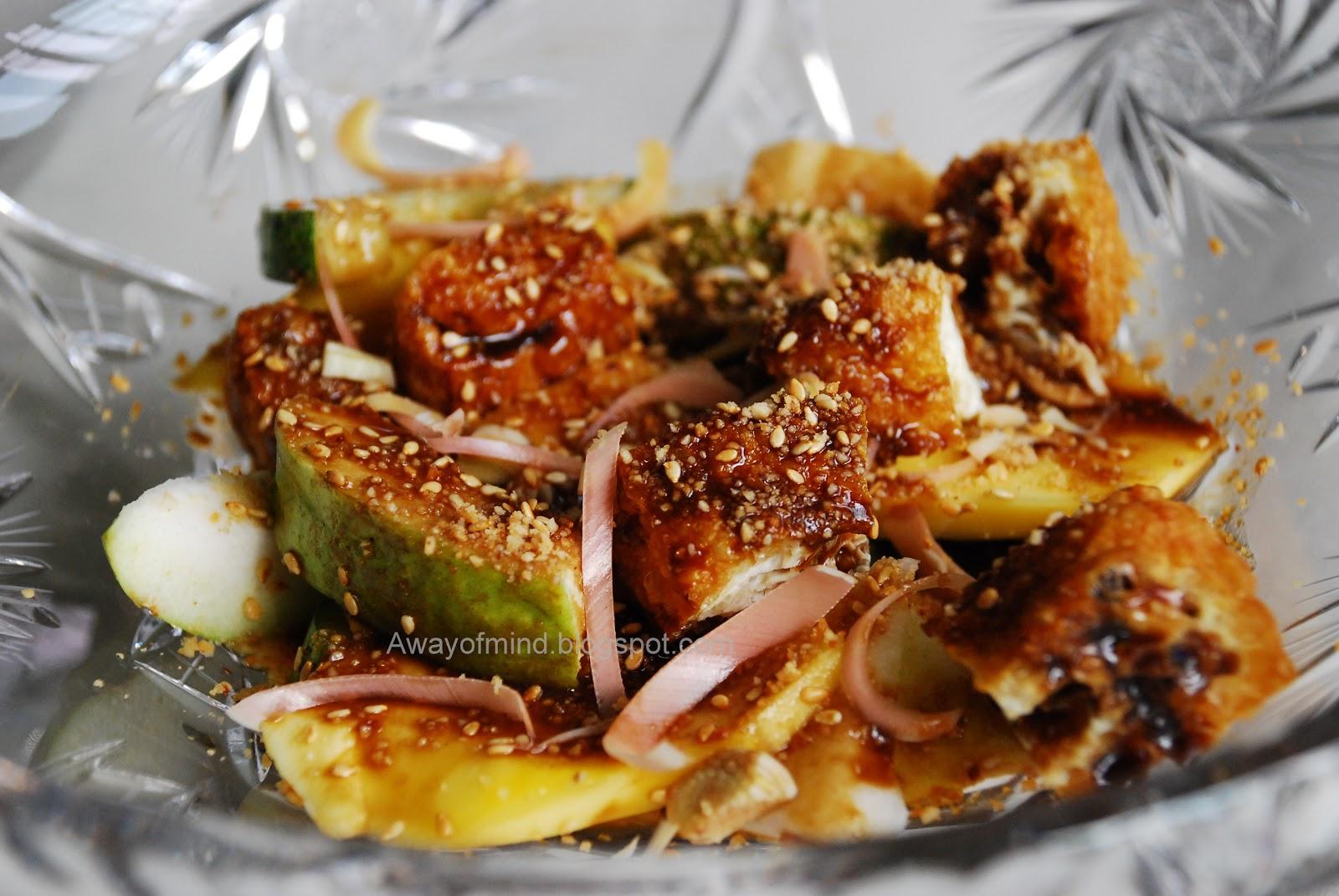 Homemade Penang Rojak Recipe — Dishmaps
