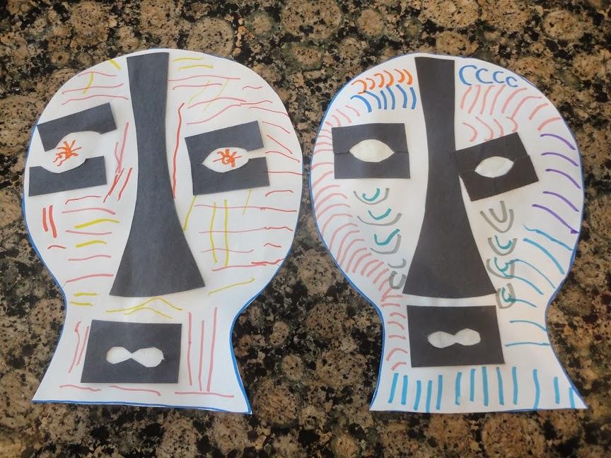 Learning about Africa in Homeschool Kindergarten