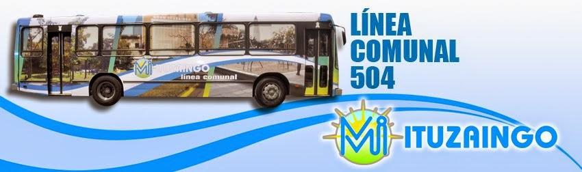 Linea Comunal 504 - Ituzaingo