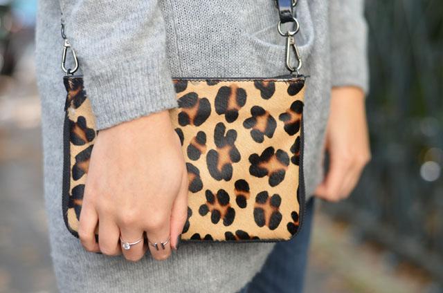 sac leopard femme