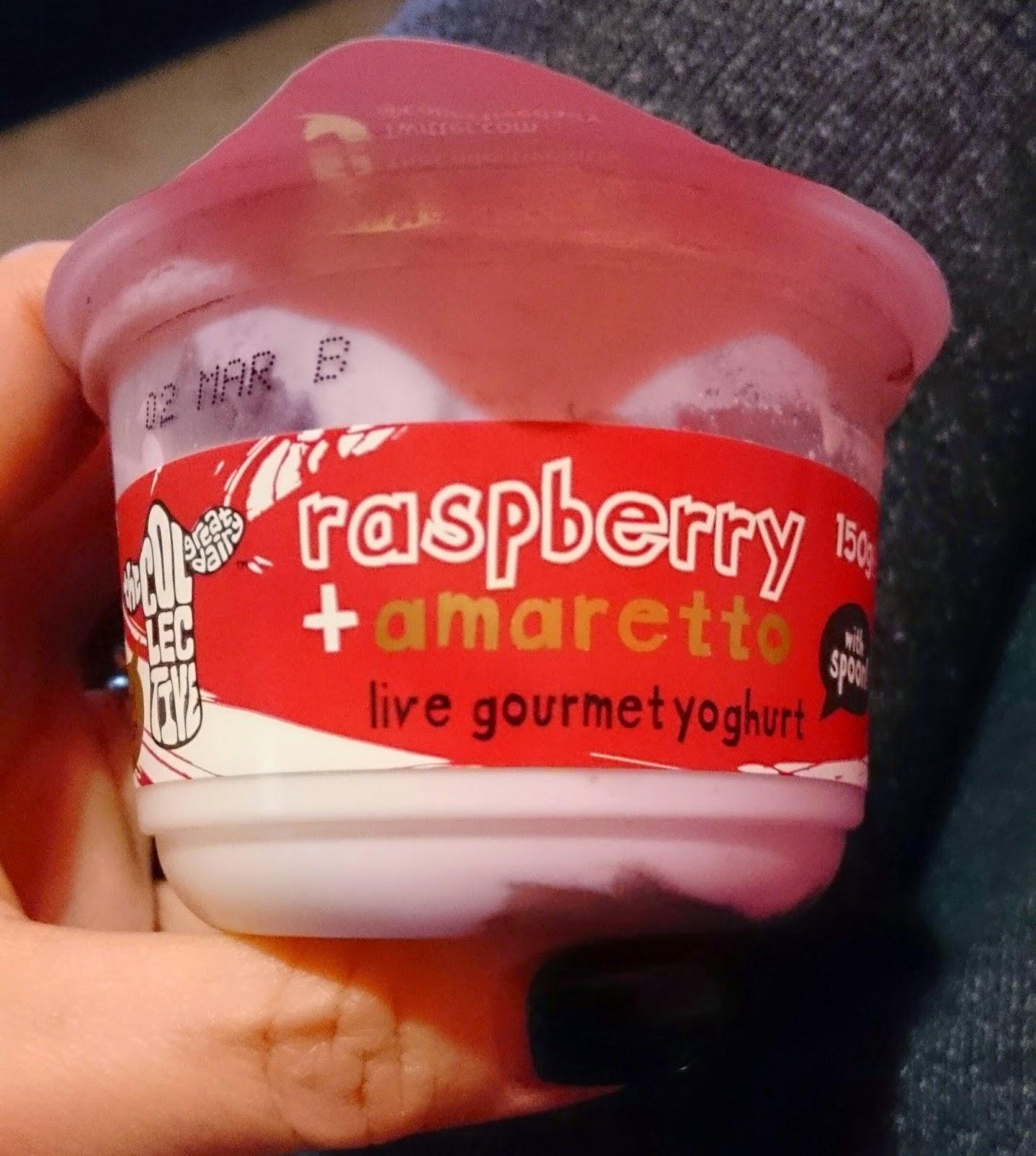 The Collective Diary Raspberry & Amaretto Yogurt