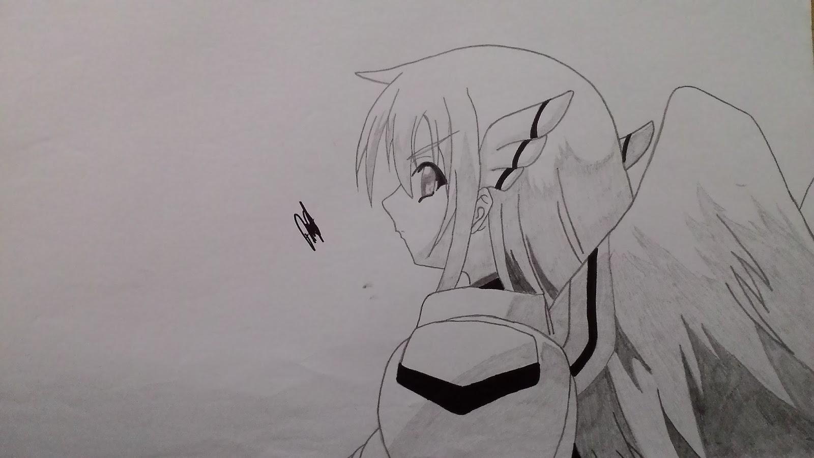 Berikut sketsa anime yang saya buat dari flim anime yang saya tonton dan hasil dari pesanan sketsa teman teman saya diblog lainnya semoga bermanfaat