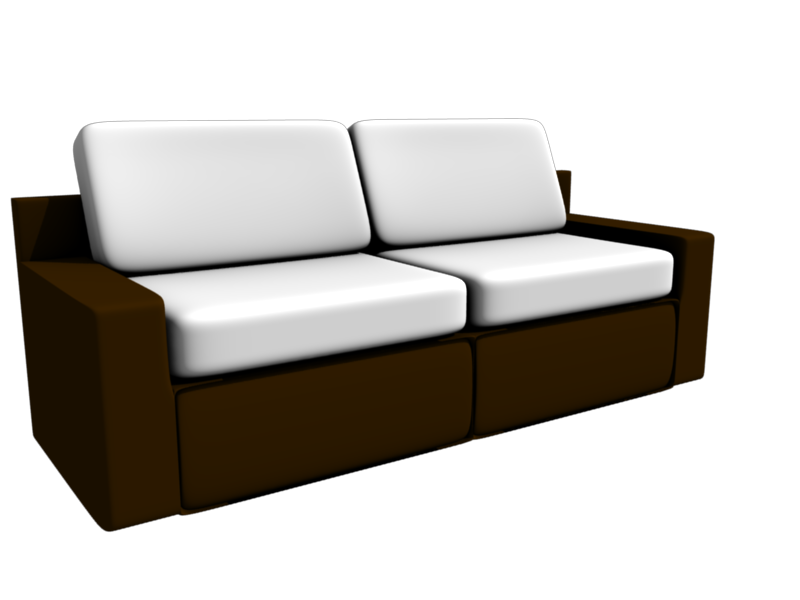 Ludiares Multimedia: Blender Free Stuff: Sofa