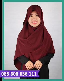 hijab segi empat tanpa ninja