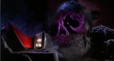 Planet of the Vampires alien skull