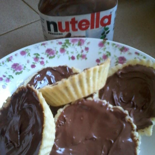Resepi Tart Nutella