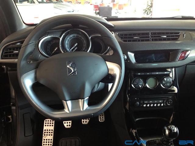 Novo Citroen C3 2013 - interior - painel