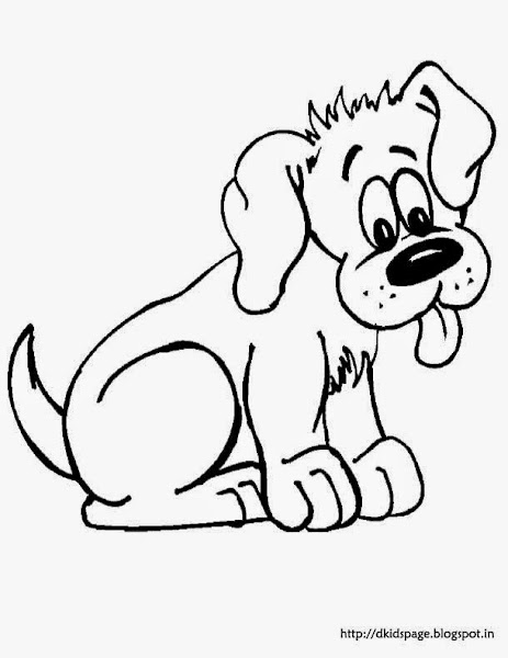 Cute Puppy Dog Coloring Pages