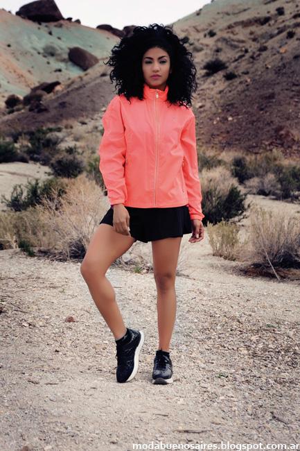 Camperas de mujer moda invierno 2016 ropa deportiva Abyss.