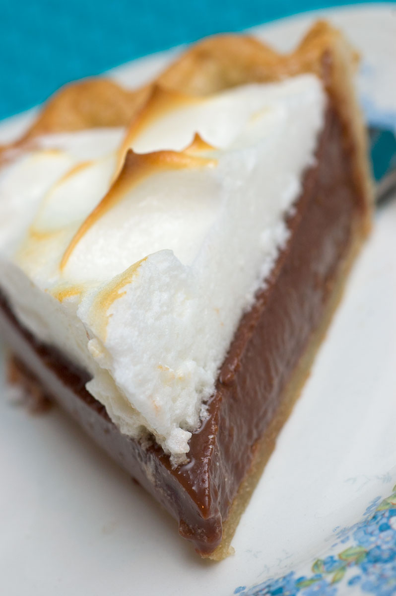 Sugar & Spice by Celeste: Aunt Julia's Chocolate Pie - Virginia Willis