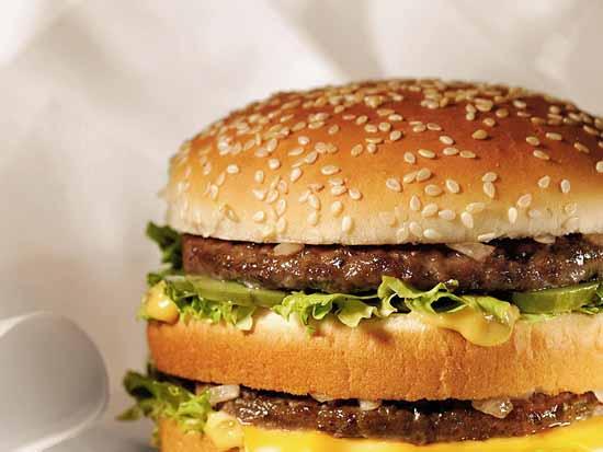 makanan junk food, burger