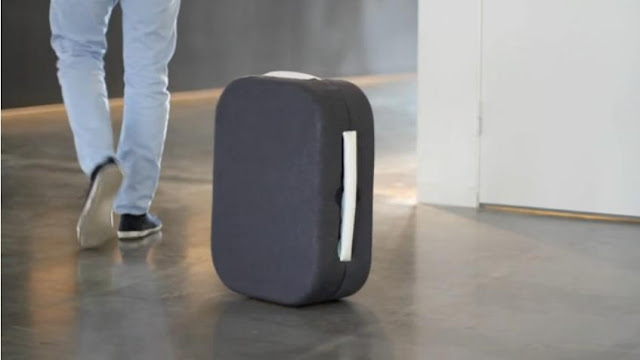 Βαλίτσα ρομπότ που μας ακολουθεί!