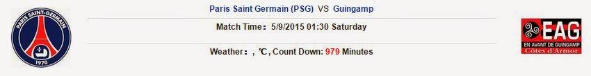 Kèo thơm dự đoán Paris Saint Germain vs Guingamp