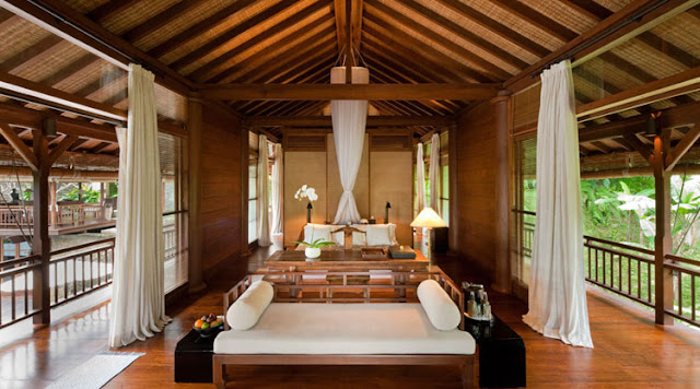 Passion for luxury como shambhala resort bali for Design interior villa di bali
