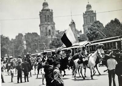 La guerra revolucionaria en la Ciudad de México 1915
