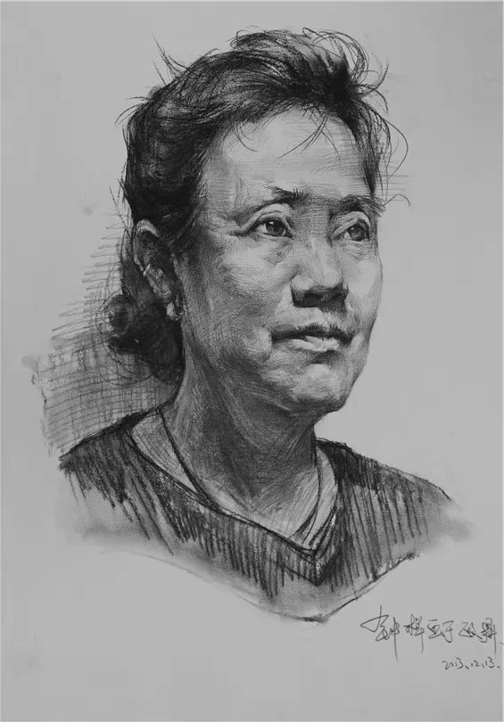 Scribble Drawing Portraits : How to draw library portrait drawings