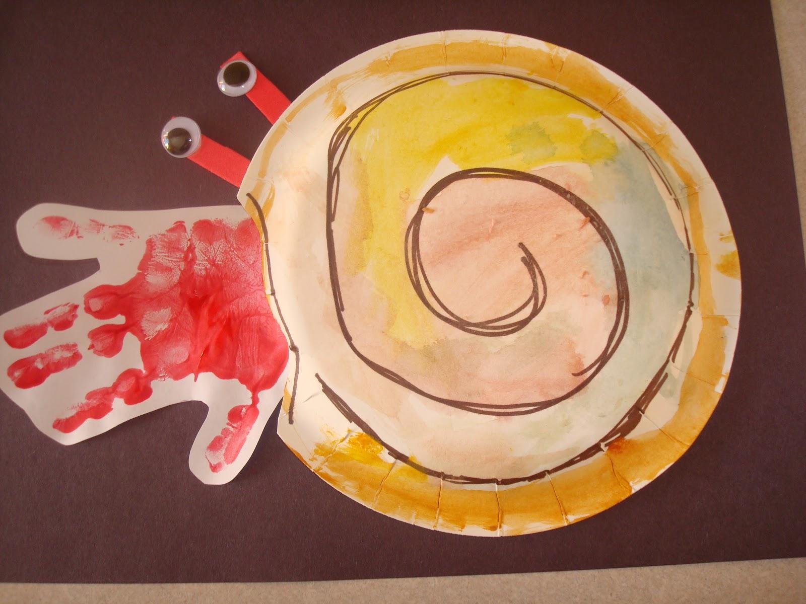 Hermit Crab Paper Plate Craft & LoveNLoot: Hermit Crab Paper Plate Craft