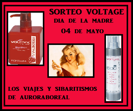 SORTEO LOTE VOLTAGE DIA DE LA MADRE