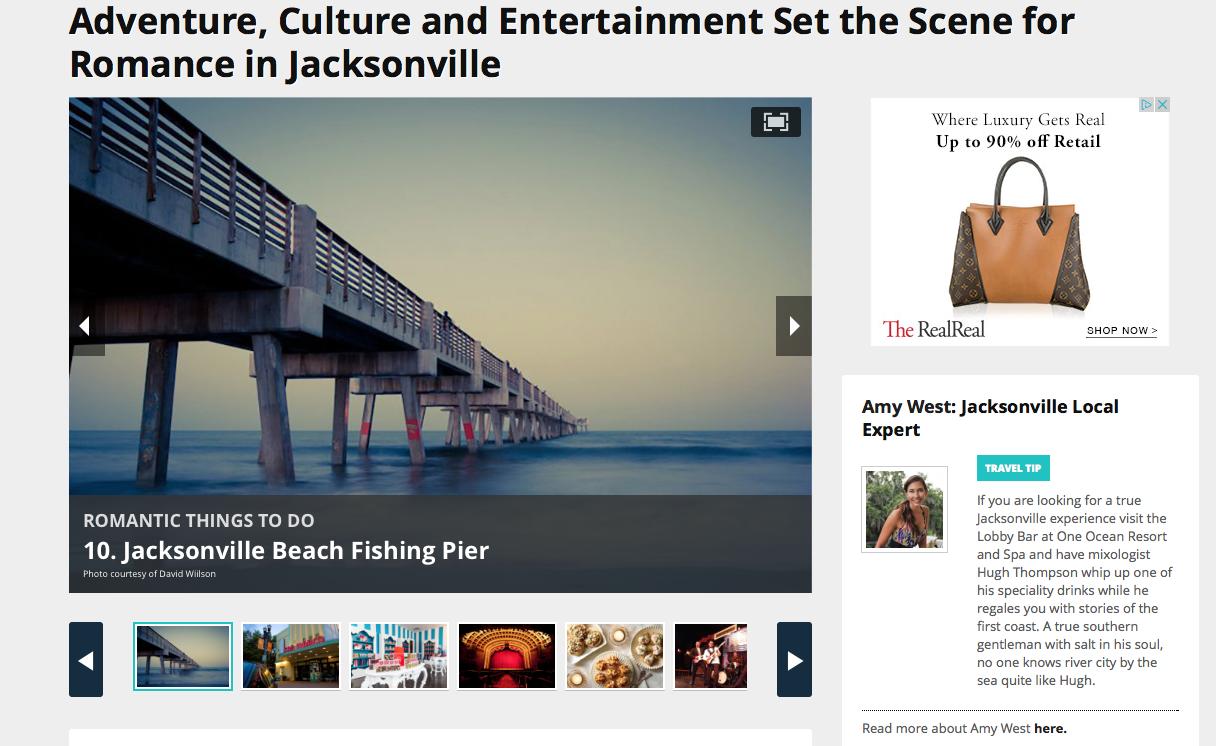 screen shot of 10Best.com story